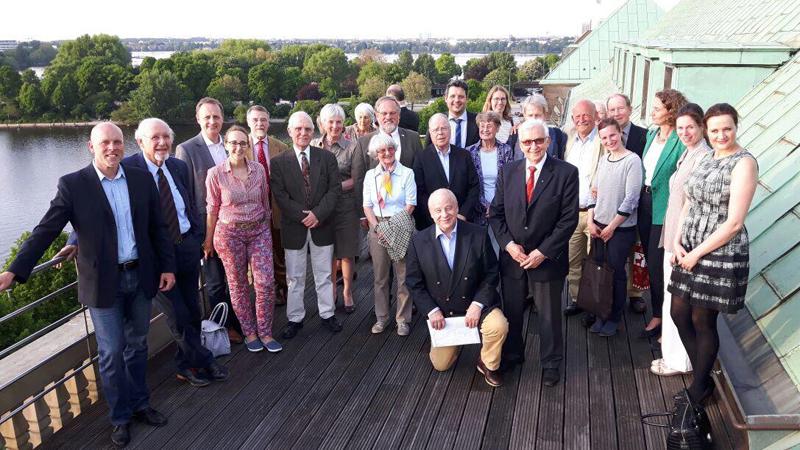 Lions Club Hamburg-Hansa über den Däcchern von Hamburg